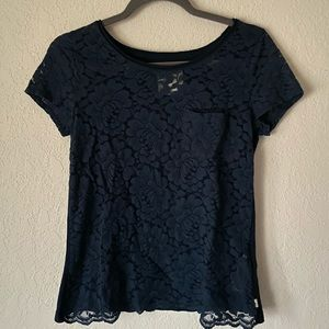 Lace Hollister top
